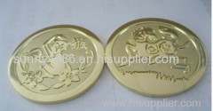 2 Side 3D Gold Coin
