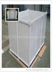 Galvanized steel container box metal stacking bins
