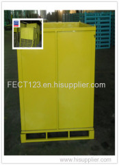 yellow color pallet racking container/steel box bin/used steel cargo containers for sale