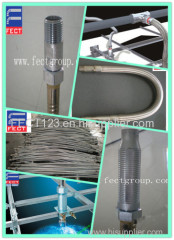 welded corrugated flexible metal hose for firefighting/stainless steel fire sprinkler hose
