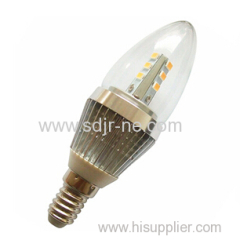 samsung led 5630SMD 110mm 5w led candle bulb light