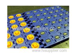 RTB Roller top conveyor modular heavy duty belts