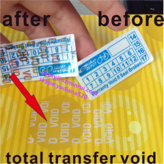 supply total transfer void label