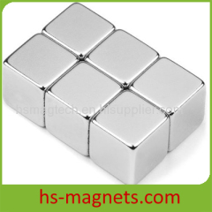 Large Permanent Super Cube Magnets