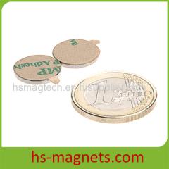 N42 3M Self-adhesive Small Neodymium Disc Magnet