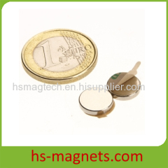 Permanent Disc Self-adhesive Small Magnet