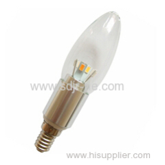 5630smd super bright led candle light 4w e14 lamp holder