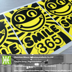eggshell stickers printing labels