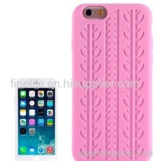 Silicone case for iPhone 6 (Pink)