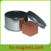 Cu Plating Rare Earth Neocube Sphere Magnet