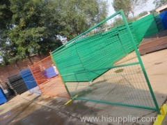 Temporary Metal Fence with Foot Canada
