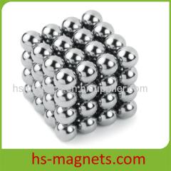 7mm Nickle Coating Neodymium Iron Boron Ball Magnets