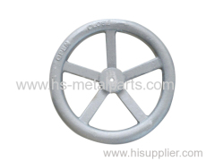 Investment casting steering wheel