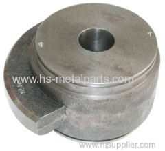 Investment casting worm wheel