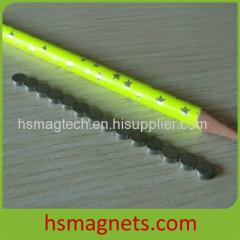 Thin Small Disc Samarium-Rare Earth Magnet