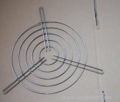 Welded Metal Fan Guard Grill