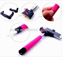 Camera bluetooth selfie stick for phones