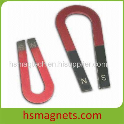 U shape AlNiCo School Magnet