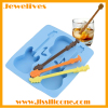 silicone guitar ice cube tray