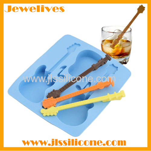 silicone guitar ice mold china