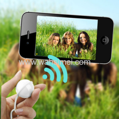 Self-Timer Bluetooth 3.0 Wireless Camera Shutter Ball for phones