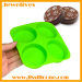 silicone ice cube tray 4 cavities china
