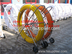Duct Rodder FISH TAPE Fiberglass duct rodder Cable tiger