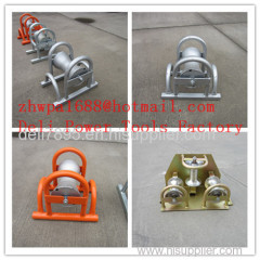 Cable Roller With Ground Plate Cable Rollers Cable Rolling