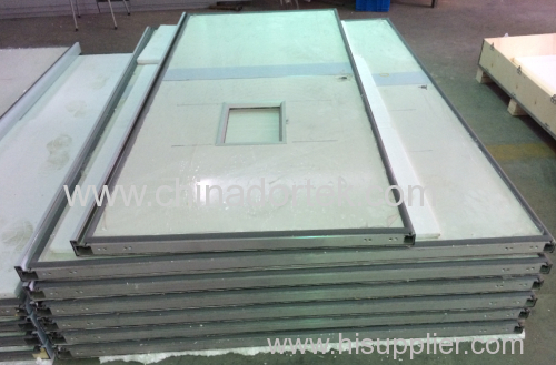 manual hermetic sliding x-ray doors
