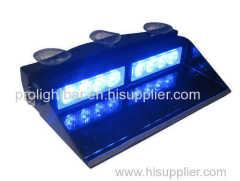 8 LED Visor dash Strobe Lights