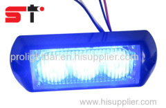 Dual Color LED Strobe Light Surface Mounting Lighthead