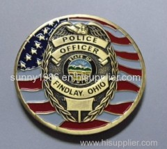 Custom Gold Challenge Coin