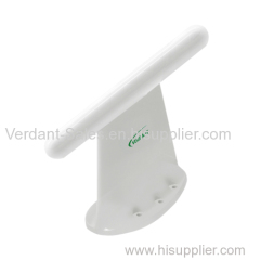 Top loaded wideband (V/UHF) blade antenna