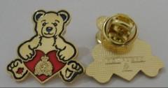 animal lapel pin,animal badge