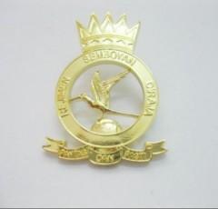 gold lapel pin,gold badge,custom lapel pin,custom badge,soft enamel lapel pin