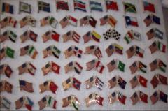 Flag lapel pin,flag badge,custom lapel pin,custom badge
