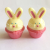 new mould rabbit shape cupcake lip gloss container
