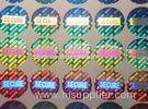 Laser Hologram PET Printed Adhesive Labels For Anti-Counterfeiting