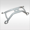 aluminum bracket for medical bed anodic oxidation
