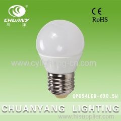 3w LED porcelain bulb constant current