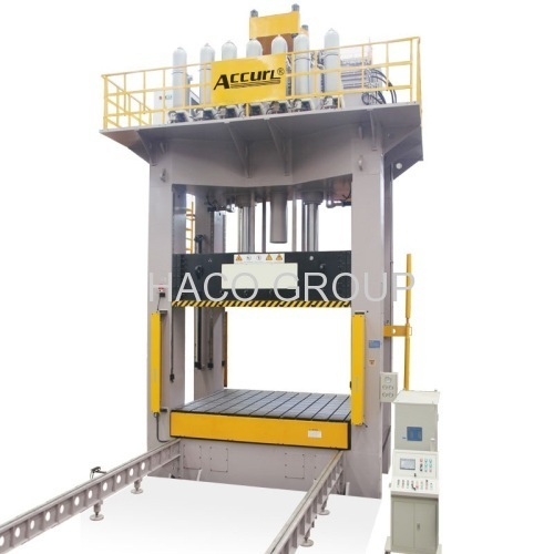 Hydraulic Die Spotting Press 300 tons Mobile Bolster 300t H