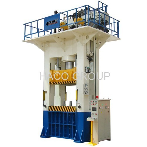 H Frame Deep Drawing Press 500 Ton Hydraulic Press 500t Moving Bolster With Hydraulic System For Brake Disc Series