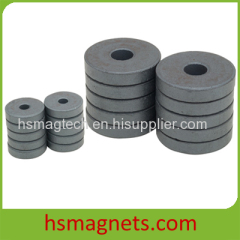 Ring Low Cost Ceramic Strong Ferrite Permanent Magnet