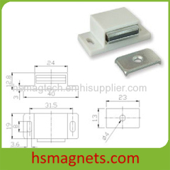 Super Strong Magnetic Door Catcher Assembly