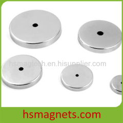 Pot magnet accessories Screw on bases