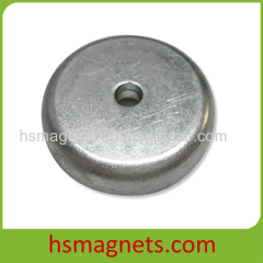 Sintered Permanent Neodymium Magnets With Countersunk Holes