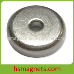 Ring Neodymium Magnets With Countersunk Holes
