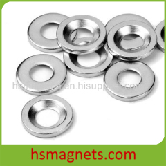 Neodymium Rare Earth Pot Magnet Countersunk