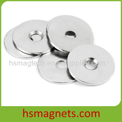 Customized Powerful Pot Magnet with Countersunk Hole