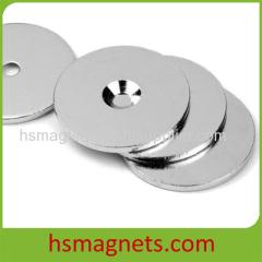 Rare Earth Neodymium Round Countersink Magnet